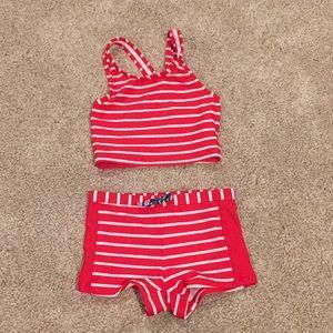 Hanna Andersson swim suit, size 110 (size 5)
